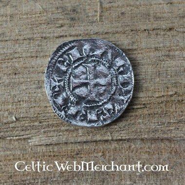 Riccardo Cuor di Leone vestito moneta