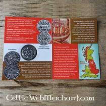 House of Warfare Keltische bladvormige broche