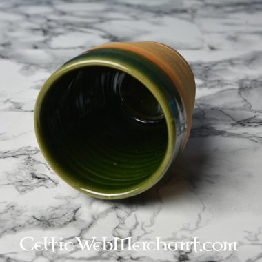 Tazza 16 ° secolo (greenware)