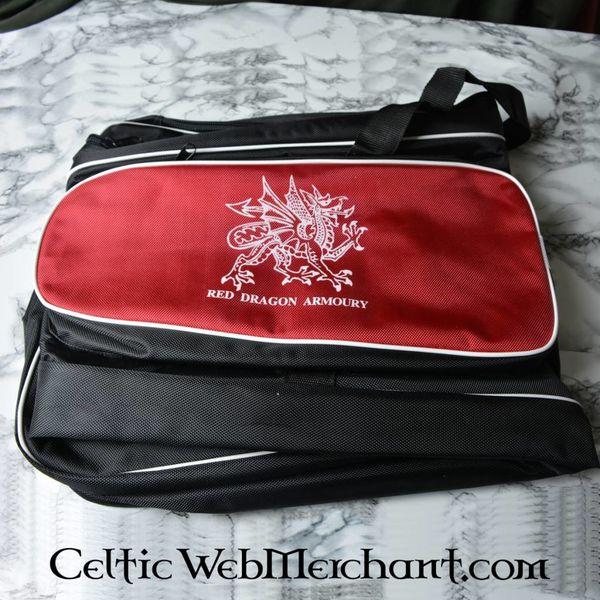 Red dragon sacchetto della spada