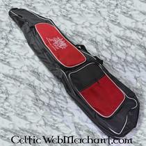 Red dragon cestino nero di plastica