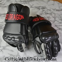 Red dragon Single Hand Grip- Red