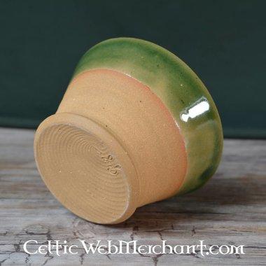 Middeleeuwse drinkkom (greenware)