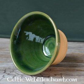 Historiske drikke skål (greenware)