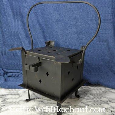 FIREPLATE avec grill et plaques chauffantes