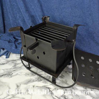 Fireplate con parrilla y cocina