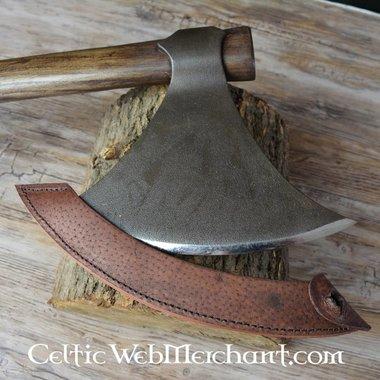 Hache Viking, patinée
