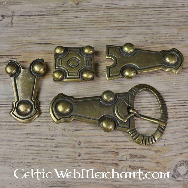 Bouton dà©coratif de ceinture alà©manique, de Balingen