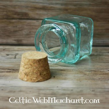 Roman square bottle