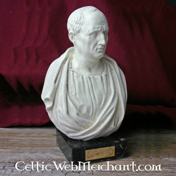 busto de marcus tullius cicero celticwebmerchant com