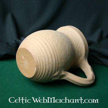 Medieval mug with handle