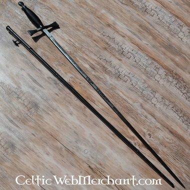 Espada ceremonial, negro