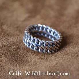 Silver Viking ring