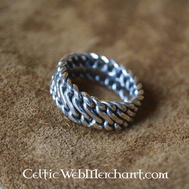 Zilveren Vikingring