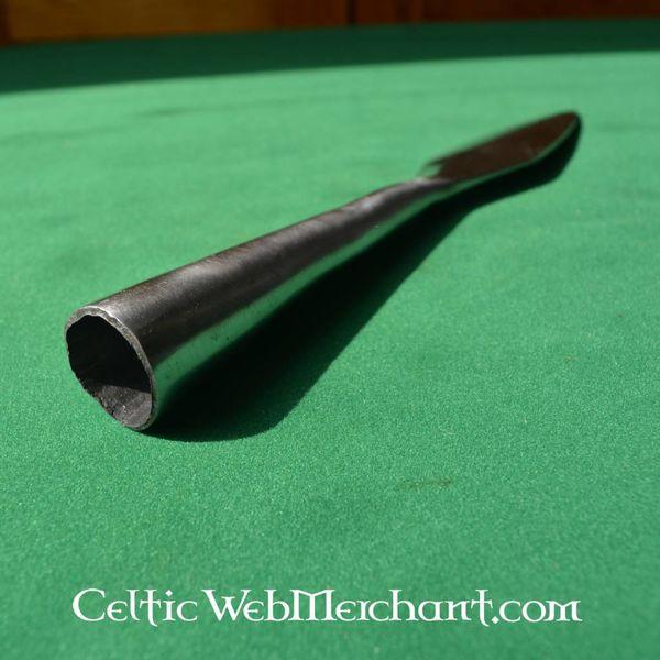 Punta de lanza alto medieval, 22 cm