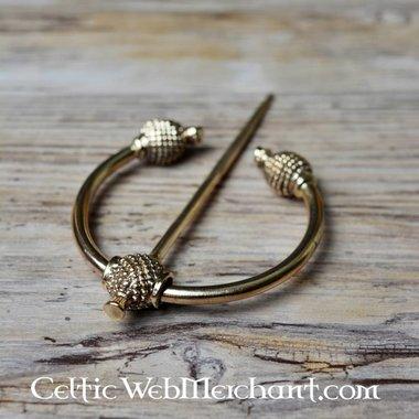 Thistle fibula bronze