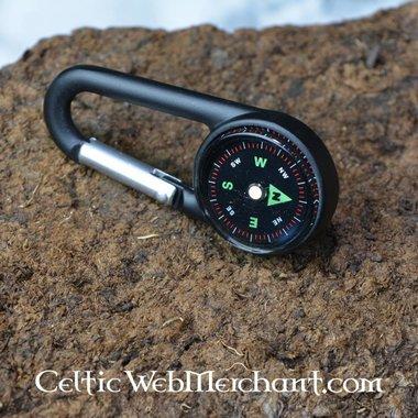 Kompas met karabijnhaak