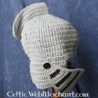 casco cavaliere a maglia