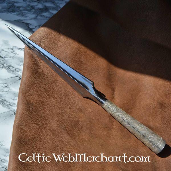 Hanwei Viking Throwing Spearhead, ornate socket