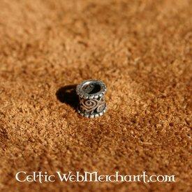 Capelli Medievale e la barba argento perla