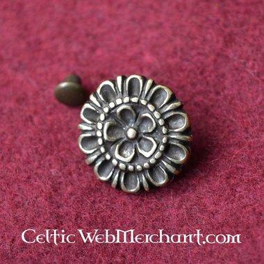 Attacco alla cintura 15 ° secolo con il disegno floreale (set di 5)