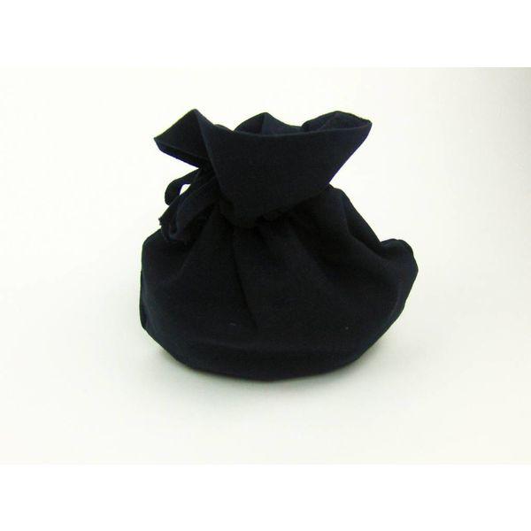 negro bolsa de dinero