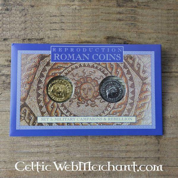 paquete de moneda romana revueltas celtas