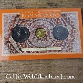 Romerske mønter pack besættelse af Storbritannien