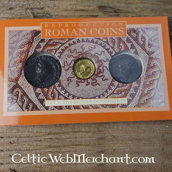 Romano moneta pacchetto occupazione della Gran Bretagna