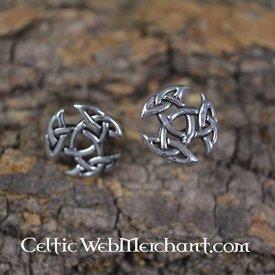Trinity earstuds, sølv