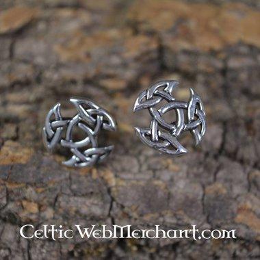 Trinity earstuds, argento
