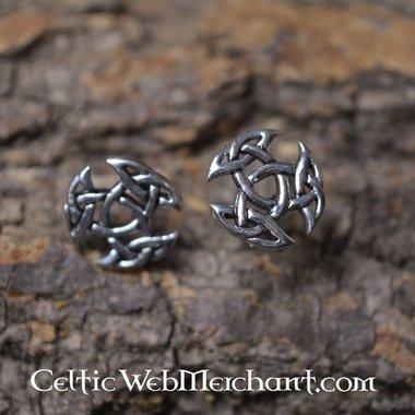 Oorknopjes Drievuldigheid, zilver