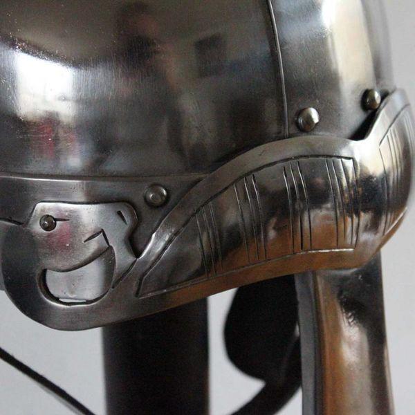 Deepeeka Spangenhelm con sopraciglia