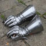 Gothic knight gauntlets