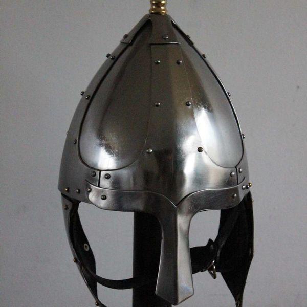 Deepeeka Germanic helmet with cheek flaps