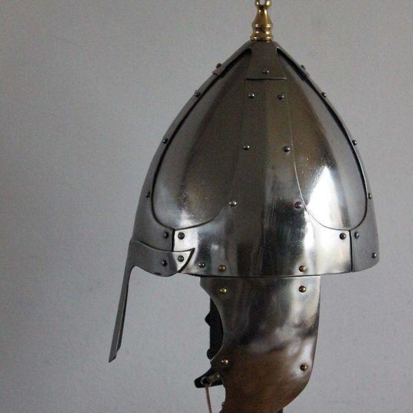 Deepeeka Casque germanique avec garde de joues