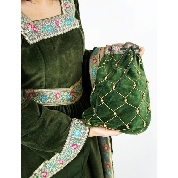 Noble pouch, green