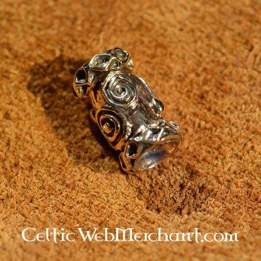 Bronzen Viking baardkraal