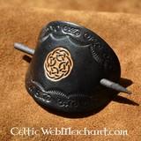 Épingle celtique à cheveux, Birgit, noir