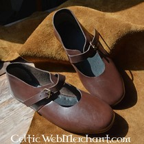 Norman veces zapato con hebilla