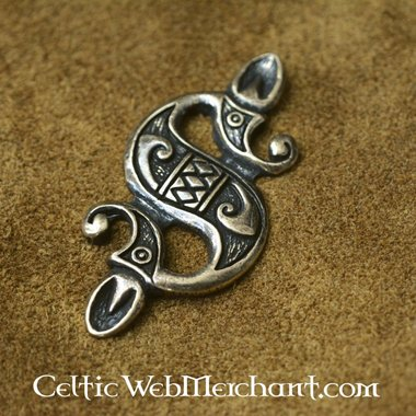 Celtic sea horse pendant