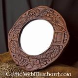 Urnes-style Viking mirror