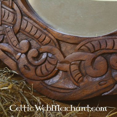 Urnes style Viking mirror