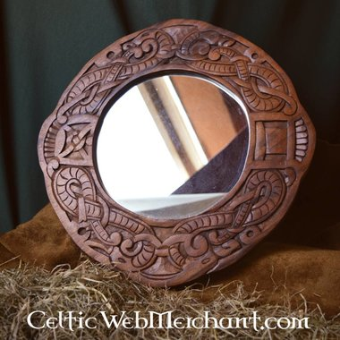 Estilo Urnes Vikingo espejo