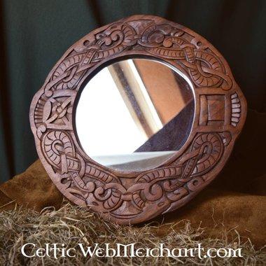 Stile Urnes vichingo specchio