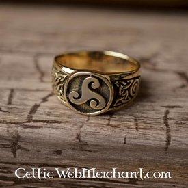 Keltisk ring trisquelion