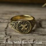 Anneau arbre de la vie celtique