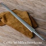 espada de plástico plata espada cuchilla