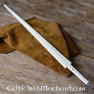 Kunststof zwaardkling eenhander wit