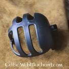 cesta de plástico negro